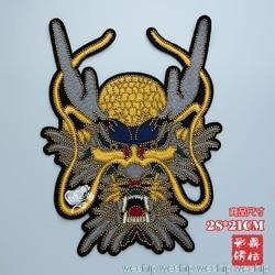 3D Lantejoulas patch dragão Artesanal Applique prego talão pano adesivo PARA saco de pano decoração DIY Broche Parche