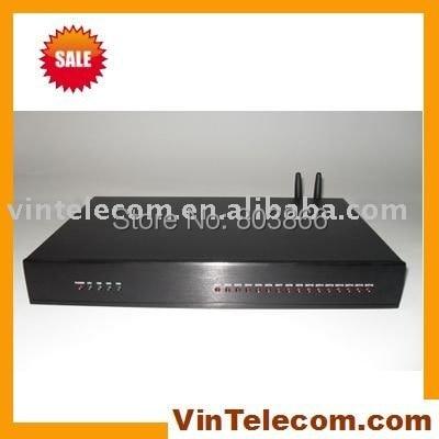 SOHO PBX/MINI GSM PABX/VIN-TS + 308 (2GSM) con 2 SIMs y 1 línea PSTN y 8 de