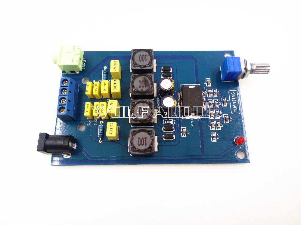 Цифровой усилитель, Hi-Fi, Tripath TA2024 Mini Class T