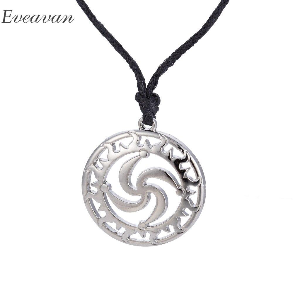 EUEAVAN 30 шт сплав цинка типичный Lauburu символ кулон ожерелье единение баскских людей амулет ювелирные изделия
