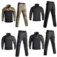 army military uniform camouflage tactical combat shirts pantscamouflage tactical uniforms airsoft paintball clothing suit sets