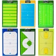 Conseil professionnel dentraîneur de Football de Volleyball de basket-ball de Hockey sur glace de Baseball de conseil tactique de PVC avec le sifflet de stylo