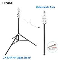 HPUSN 3m/118.11inch Four-Section Heavy Duty Triple Riser Aluminum Kit Photo Lighting Lamp Flash Stuido Light Stand load 5KG