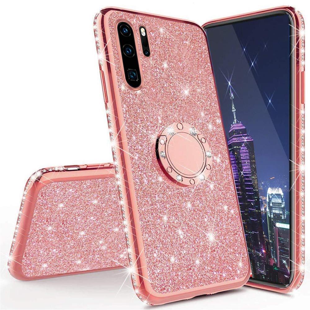 Funda de diamante para Huawei P30 P20 P10 Pro Lite funda para Huawei Mate 20 10 30 Pro Lite 20 X Honor 10 lite 8X 7X 9X funda con purpurina