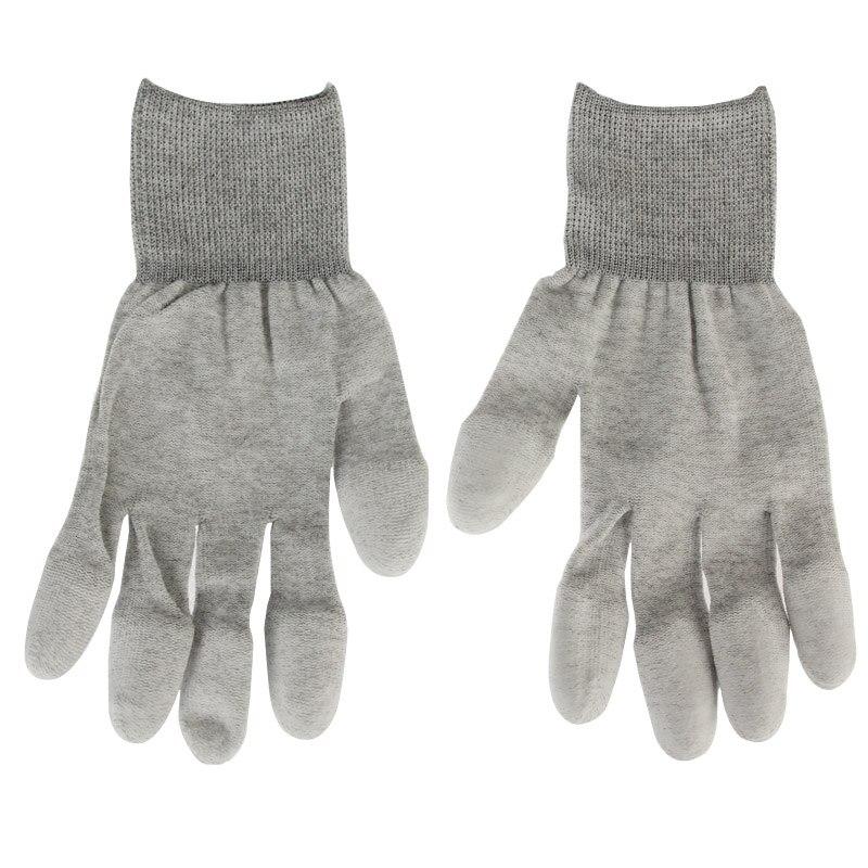 Антистатические антистатические безопасные Универсальные перчатки с покрытием для компьютера/электроники/телефона, пара 2