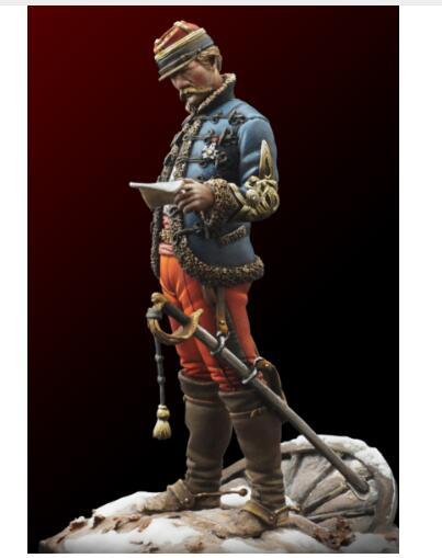 1/24 75MM francés oficial 1871 año juguete resina modelo resina miniatura figura sin montar sin pintar