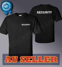 أسود 100% القطن الجودة تي شيرت-الأمن ، حارس لأي حدث حانة Etc2019 الرجال T قميص الأزياء مضحك الملابس عارضة