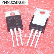 IRFZ44N-Transistor 55V   Transistor, MOSFET, 10 pièces/lot, canal N 49A, irf44n IRFZ44 FZ44N, qualité supérieure