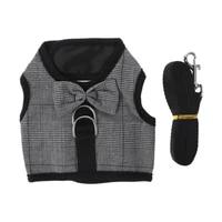 rabbit leash lead vest small animals mesh cotton hamster guinea pig harness leash pet strap