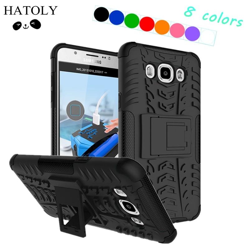 Für Samsung Galaxy J7 2016 Fall Gummi Rüstung PC Telefon Fall für Samsung Galaxy A7 2018 Abdeckung Fall für Samsung galaxy A30 A40 A50