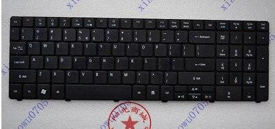 Nuevo teclado para ordenador portátil de EE. UU. Para ACER E732 E732G E732Z E732ZG inglés negro
