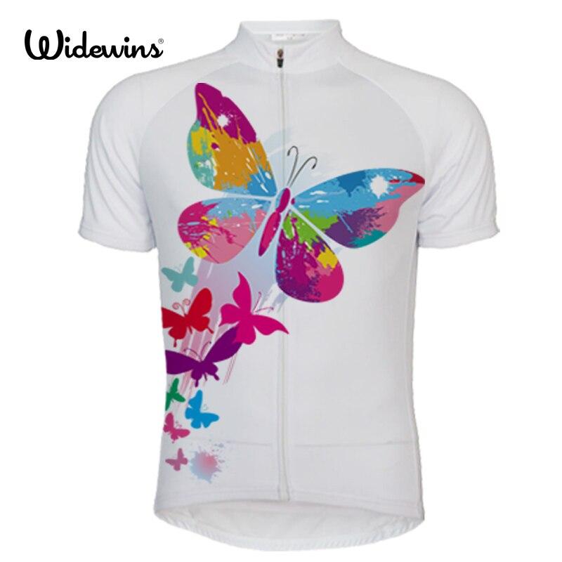 Nova fêmea borboleta ciclismo camisa de manga curta roupas de bicicleta secagem rápida equitação roupas ropa ciclismo 5088