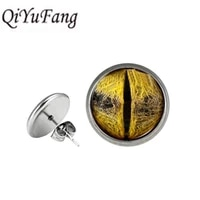 qiyufang fashion colorful mucical note stud earrings elegant charming women musician music lover jewelry friends wedding gift
