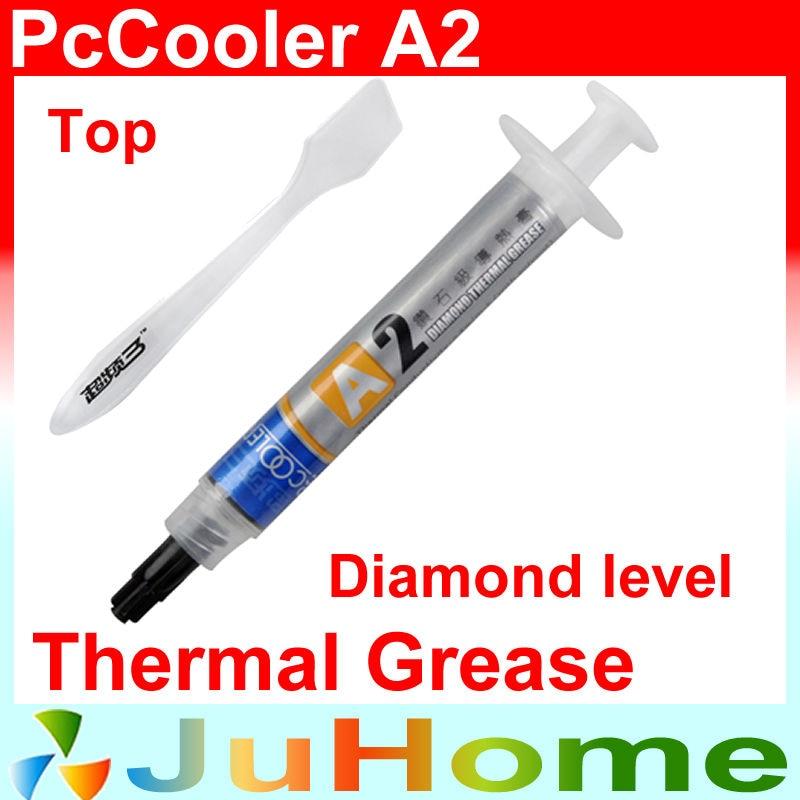 Grasa de silicona de pasta térmica de nivel de diamante, procesador de refrigeración de pasta térmica overclocking dedicado, PcCooler A2