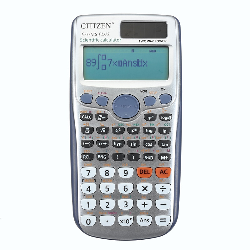 Handheld Student's Scientific Calculator 991ES PLUS  LED Display Pocket Functions Calculator For Teaching For Students