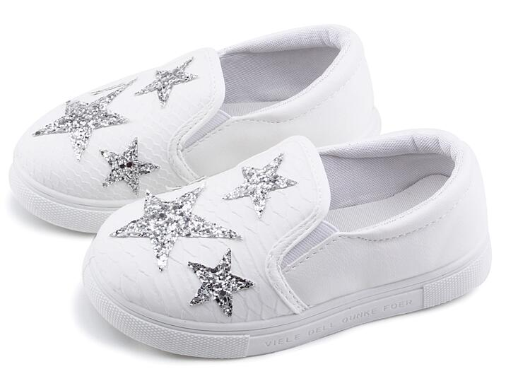 AI LIANG otoño niños zapatos moda Casual zapatillas para niños niñas niño niños deportes correr zapatos diamantes de imitación estrellas