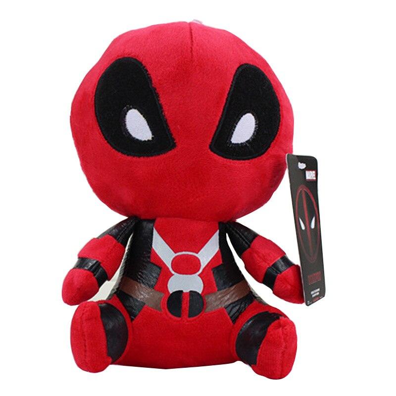 20 cm Q Version X-männer Deadpool Film Action Figure Plüsch Spielzeug Kinder Spielzeug