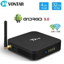 VONTAR TX6 Android 9,0 TV Box Allwinner H6 Quad Core 4GB 64GB USB 3,0 Dual Wifi BT HDR 4K 4GB 32GB Set Top Box 4GB 32GB 2GB 16GB