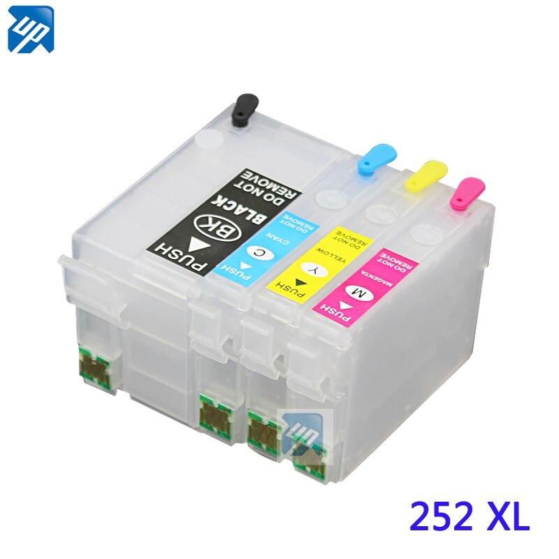 252 T2521 многоразовый чернильный картридж с чипом ARC для рабочей силы WF-3620 WF-3640 WF-7610 WF-7620 WF-7110 WF-7710 WF-7720 WF-7210