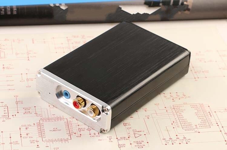 Interfaz digital CM6631A conversión USB I2S SPDIF salida coaxial 32Bit a 24Bit 192K tarjeta de sonido decodificador Audio DAC Board
