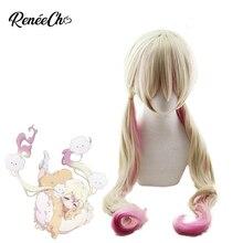 Reneecho Magical Girl Raising Project Cosplay Nemurin Wig Sanjo Nemu Cosplay Anime Cosplay Long Synthetic Hair 90cm