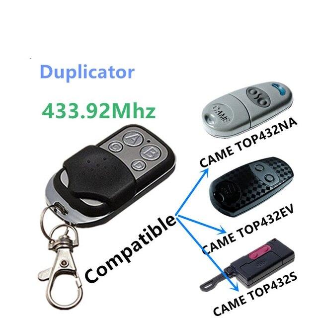 Copia duplicadora de 433,92 Mhz, mando a distancia TOP432EV TOP432NA TOP432S con batería para llave de puerta de garaje Universal, Fob