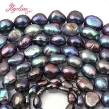 """5-7/8-9/9-10mm Natürliche Kartoffel Unregelmäßige Süßwasser Perle Natürliche Stein Perlen Für DIY Frauen Halskette armband Schmuck Machen 15"""""""