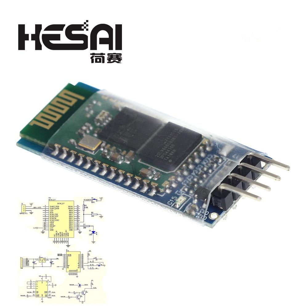 HC-06 Bluetooth Serielle Pass-through-Modul Drahtlose Serielle Kommunikation HC06 Bluetooth Modul für arduino Diy Kit