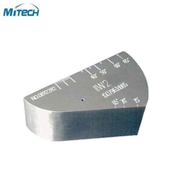 الفولاذ المقاوم للصدأ معايرة اختبار كتلة V2