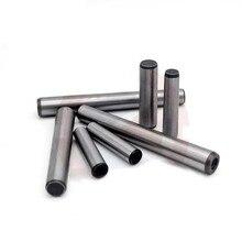 Goupille cylindrique acier dur   2 pièces M10 queue de douille, chevilles à filetage interne, goupille cylindrique 45 # acier dur GB120 20mm-110mm de long