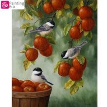"Era,Full,5D,DIY,Birds Eat Fruit""Diamond Painting,Needlework,Diamond Embroidery,Cross Stitch,Round Rhinestone,Home Decoration,Art"