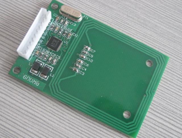 Módulo de radiofrecuencia RC522 lector de tarjetas de lectura módulo RFID tarjeta IC