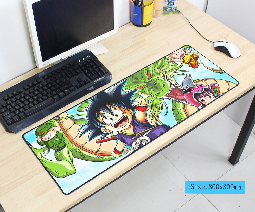 Коврик для мыши Dragon Ball 800x300x3 мм коврик для мыши notbook компьютерный коврик для мыши крутой игровой коврик для мыши геймер для клавиатуры коврик...