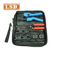 AN-K2546B Optical fiber tool set solar PV Tool set solar tool set crimping tool.stripperdiescombination too kit