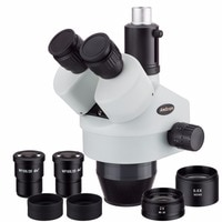 AmScope SM3590TP 3.5X-90X siuml-focal Trinocular Zoom Power Stereo Microscope Head