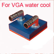 1pcs Copper Computer VGA Water Cooling Cooler Base Block Waterblock Heatsink