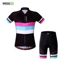 WOSAWE femme Roupa Ciclismo maillots de cyclisme/vêtements de cyclisme vélo/vélo à séchage rapide tenue de sport costume de sport