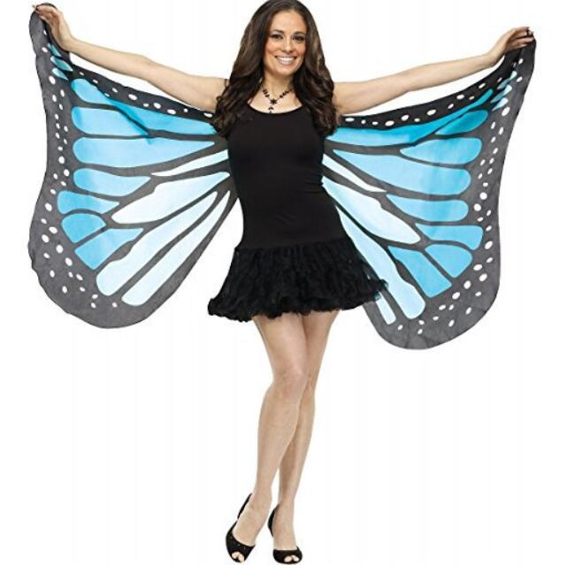 Mulher fada dança do ventre borboleta anjo isis asas traje tecido macio adulto monarca borboleta cape asas colorido um tamanho