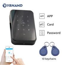 TT 자물쇠 App Rfid 문 접근 제한 독자, 전자 가구 디지털 방식으로 키패드 자물쇠 카드 판독기 bluetooth 똑똑한 자물쇠
