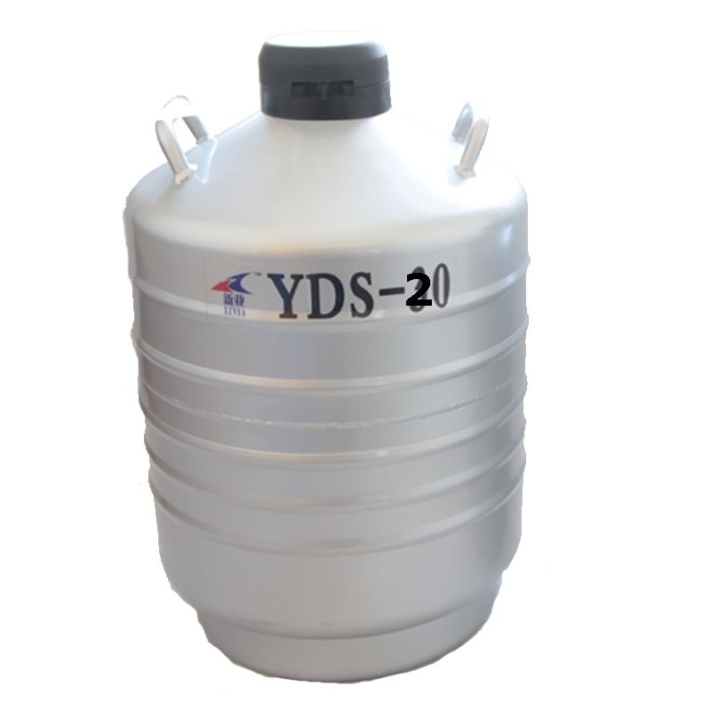 20L Liquid Nitrogen Container Cryogenic Tank Dewar With Straps Liquid Nitrogen Container Can