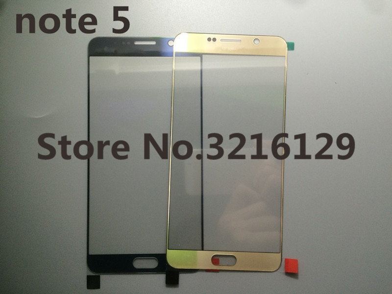 new Original Front Screen Lens Outer Glass For Samsung Galaxy note 5 N920 N920F Replacement Repair P