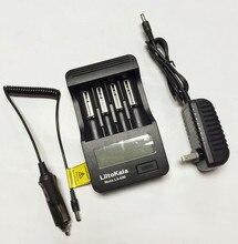 Liitokala lii-400 led 18650/26650/14500 شاحن البطارية ، كشف من قدرة البطارية/المقاومة الداخلية/الجهد
