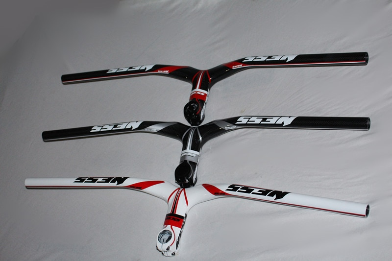 EC90 новый бренд 3K Углеродное волокно руль для велосипеда MTB руль для велосипеда горный и дорожный руль для велосипеда