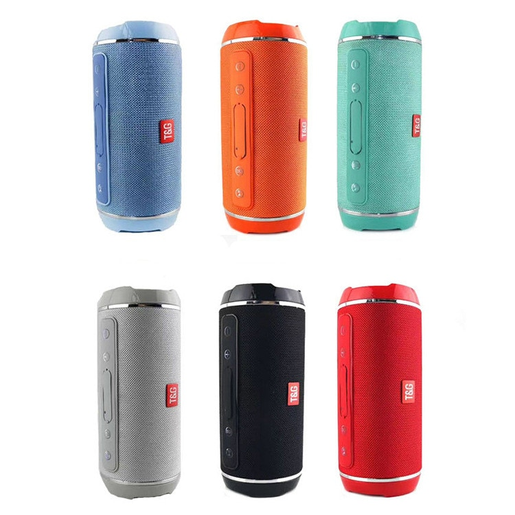 Altavoz con Bluetooth portátil inalámbrico, caja de sonido impermeable IPX5, columna de...