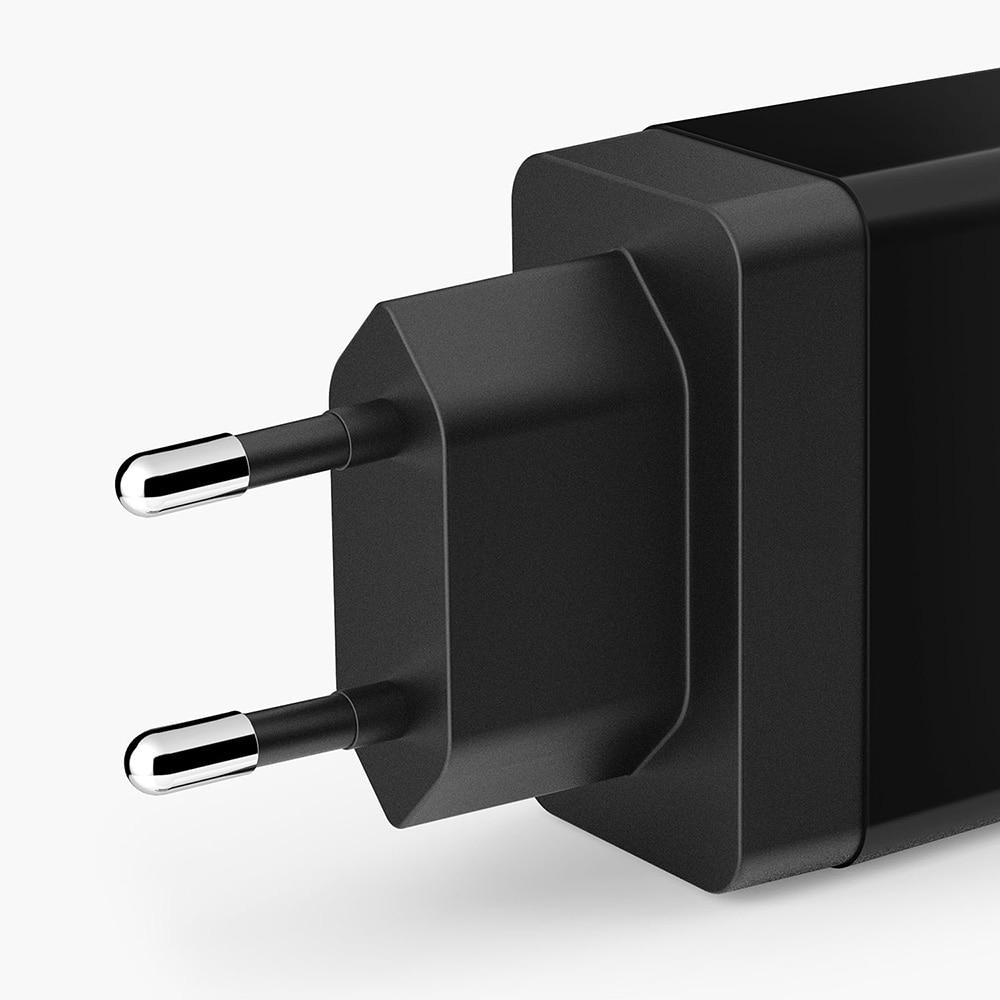 Anker 24W 2-Port USB Wall Charger (EU/UK Plug) and PowerIQ Technology for iPhone, iPad, Galaxy, Nexus, HTC, Motorola, LG etc