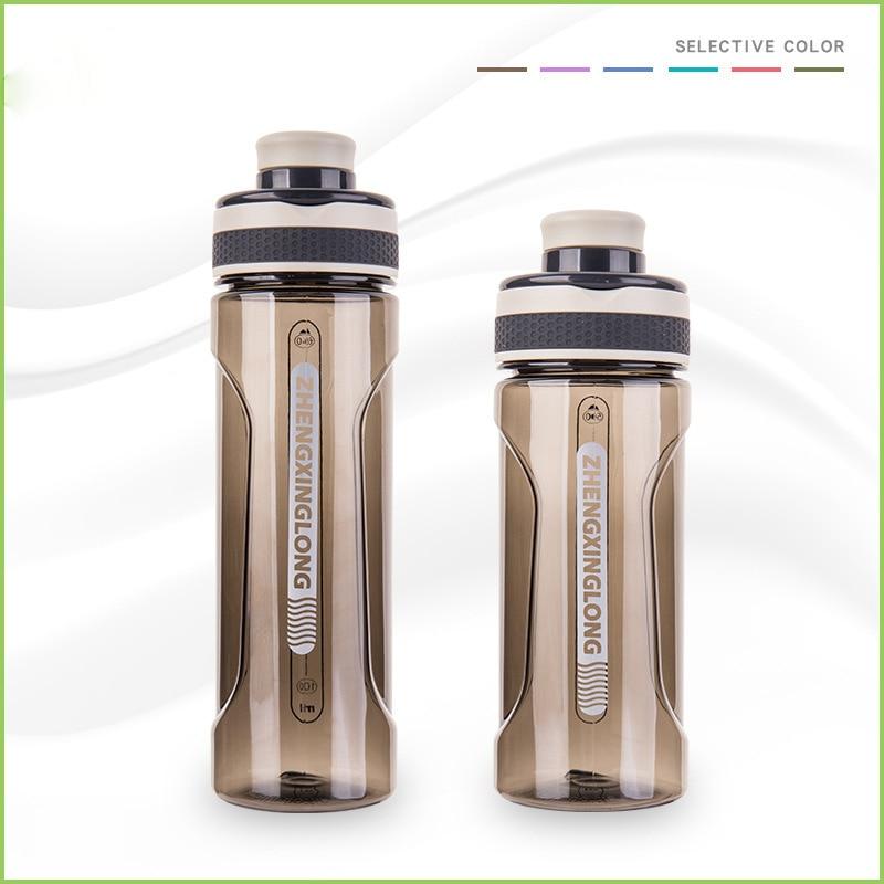 Deportes tetera de plástico a prueba de fugas botella de agua portátil turística senderismo camping hervidor de agua botella de bebida para niños filtro Vasos