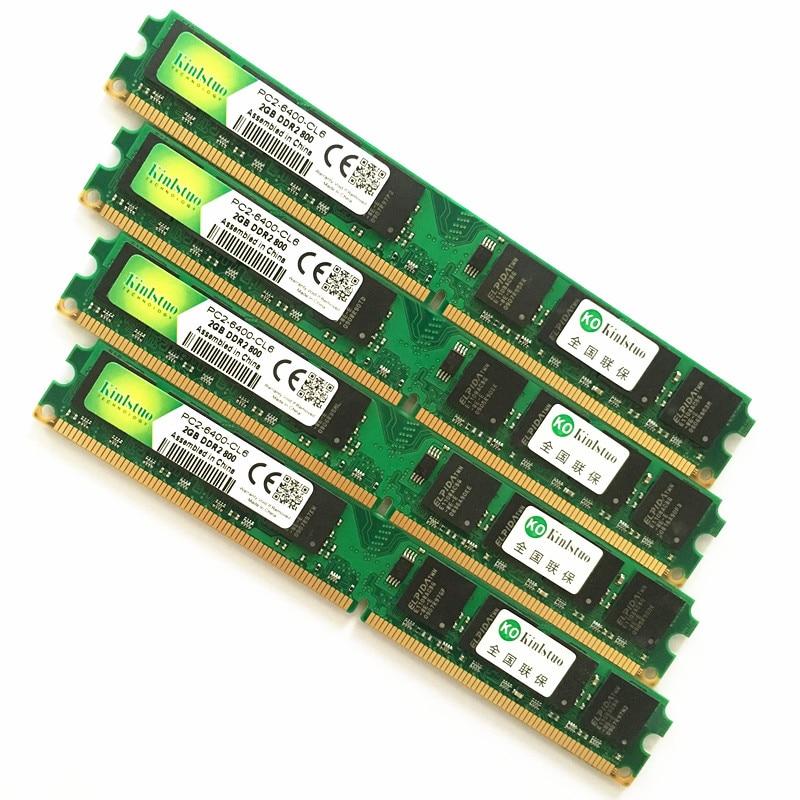 INTEL y AMD escritorio DDR2 533 de 667 a 800 Mhz 1Gb...