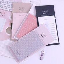 1 pièce nouveau Plan de travail papier Kraft papeterie bloc-Notes bloc-Notes créatif Notes autocollantes fournitures scolaires papier autocollants