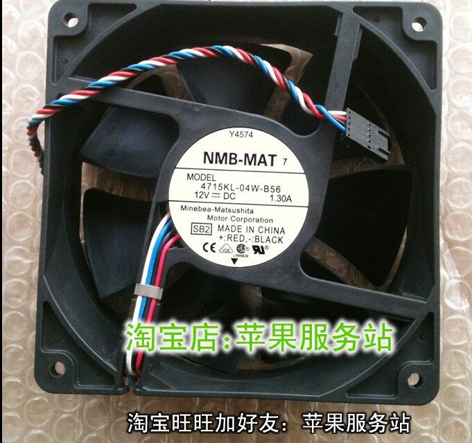 4715kl-04w-b56 novo nmb 12038 12 v 1.3a d8794 ventilador da estação de trabalho 3600 rpm