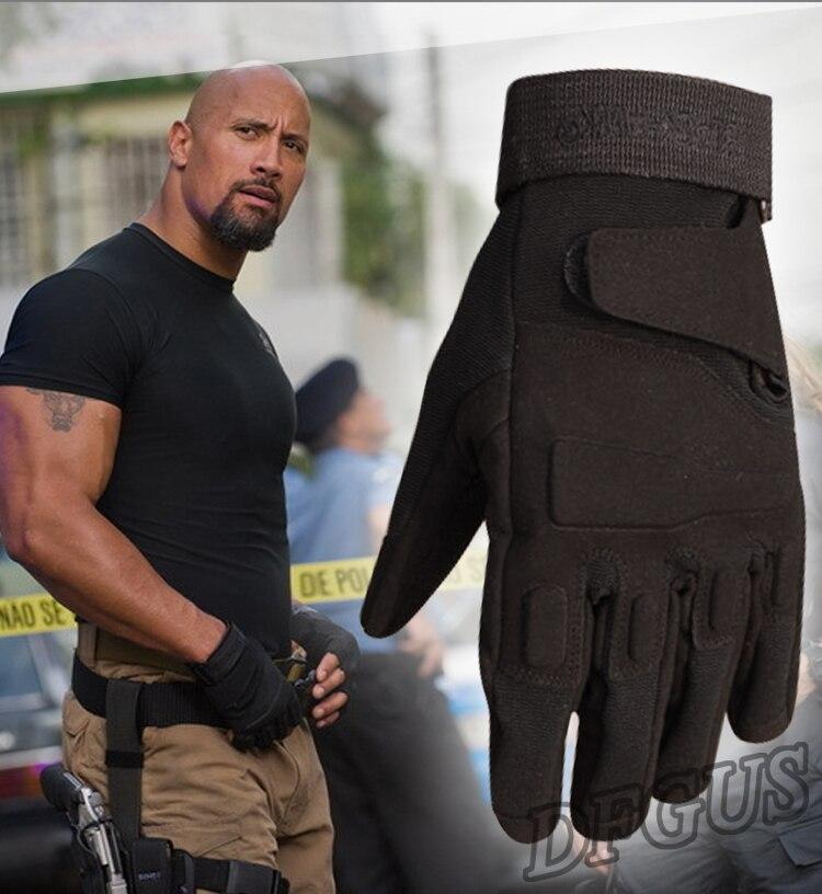 США Тактический Перчатки армейская Для мужчин военной полиции солдат Пейнтбол